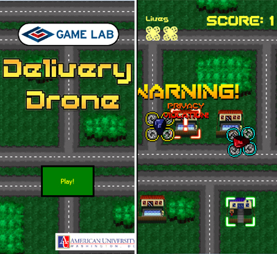 Delivery Drone Game
