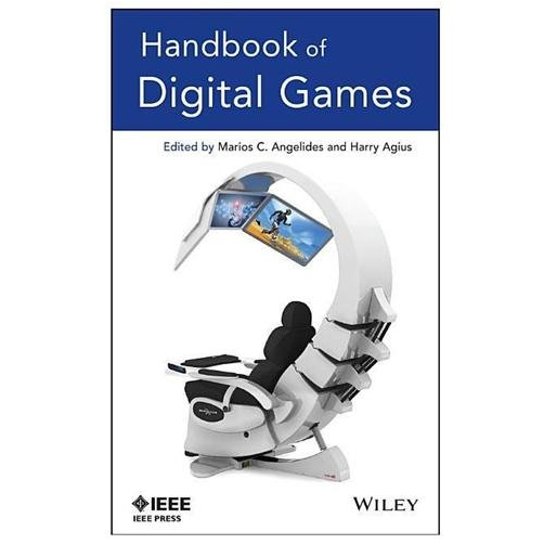 Book Cover, Handbook of Digital Games