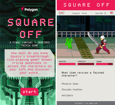 Square Off Polygon Game