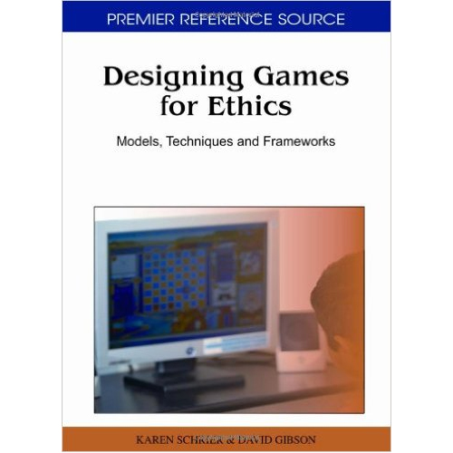Book Cover, Designing Games for Ethics